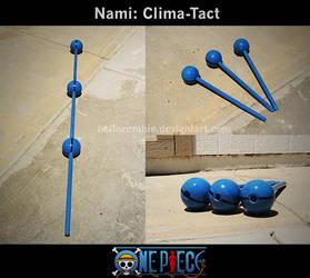 Nami: Clima-Tact by hellozombie