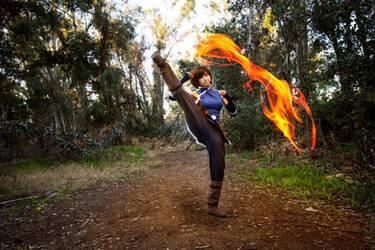 Season 4 Korra: Fire