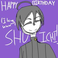 HAPPY BIRTHDAY SHUICHI!!!