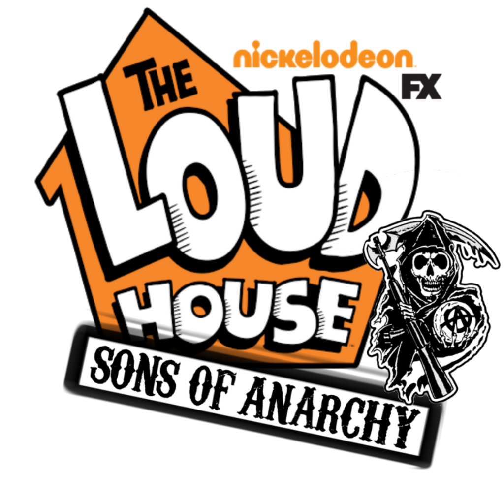 the loud house sons of anarchy logo by obscurum draco on deviantart rh deviantart com Sons of Anarchy Actor Dies Sons of Anarchy Patches