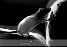 Rat by Bauscheborzel