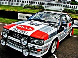 Audi Quattro by H3KTIK