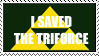 I saved the Triforce by Mistress-Cara