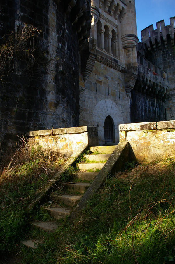 Stairs to the Castle