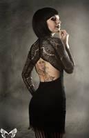 Inky black by AshtrayheartRomina