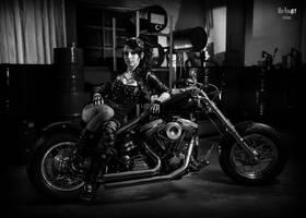 Rock chick by AshtrayheartRomina