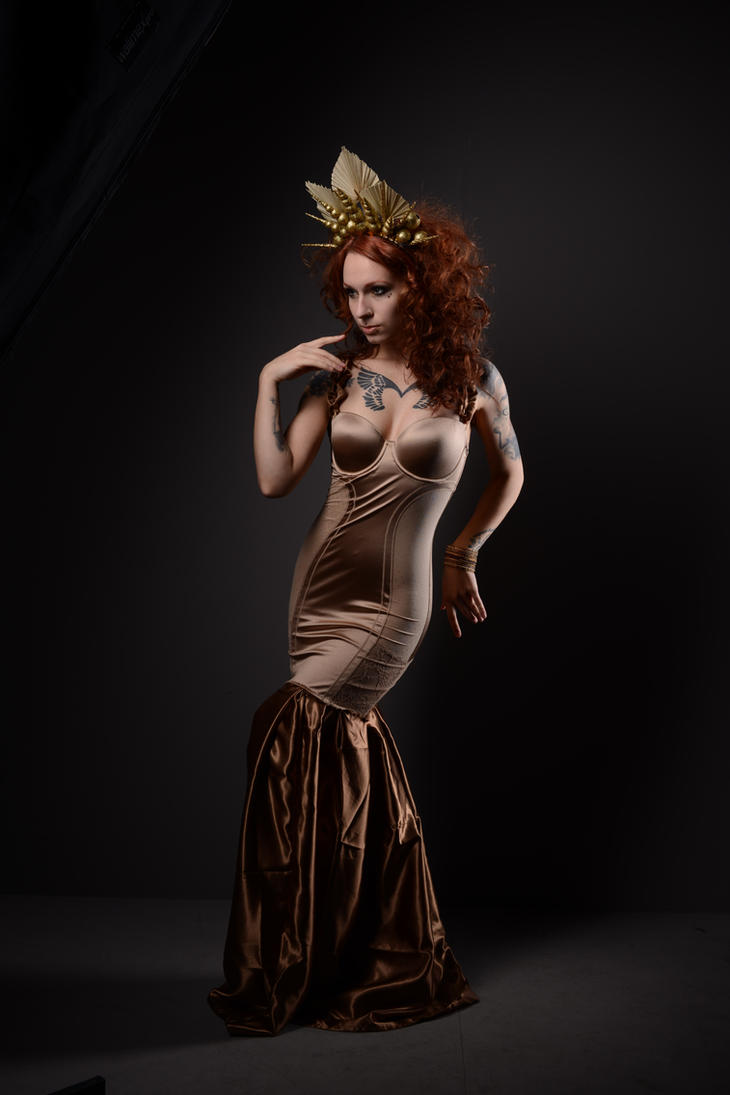 Golden queen 3 by AshtrayheartRomina