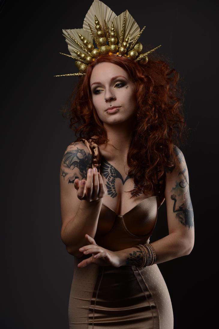 Golden queen 4 by AshtrayheartRomina