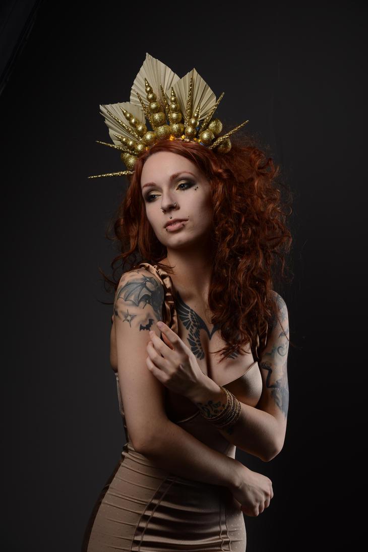 Golden queen 5 by AshtrayheartRomina