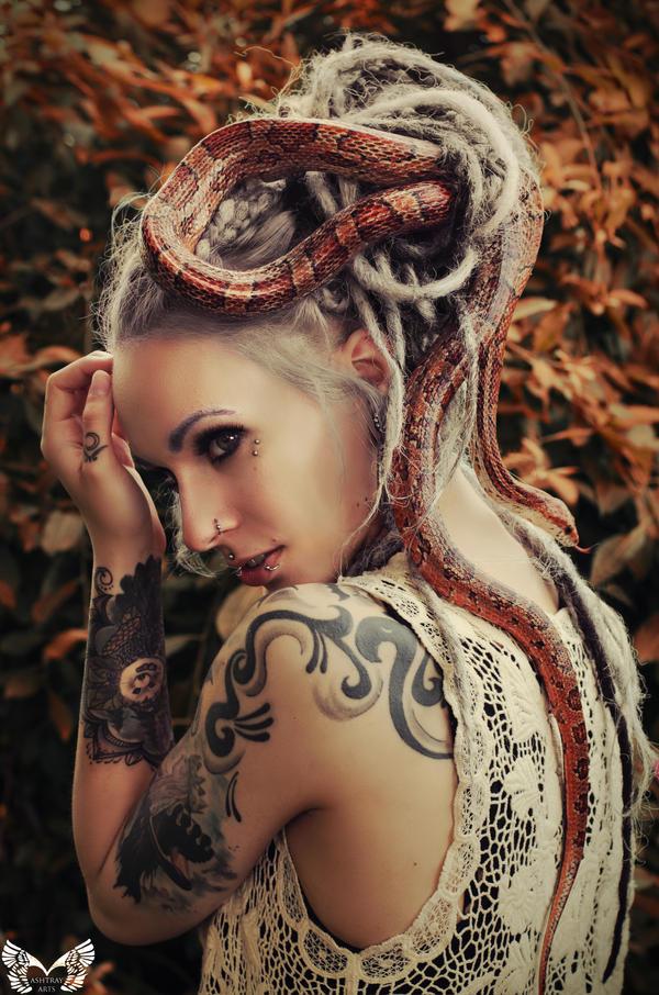 Medusa 2 by AshtrayheartRomina