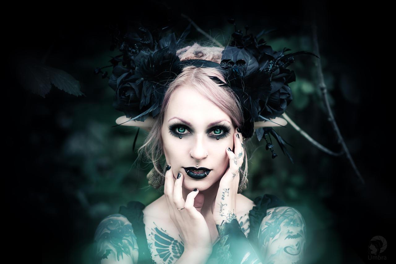 Faun girl by AshtrayheartRomina