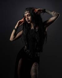 Goth girl stock 2