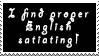 Proper English Stamp by P0W4H-L4D33