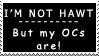 Hawt OC stamp by P0W4H-L4D33