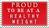 Healthy Weight Stamp by P0W4H-L4D33