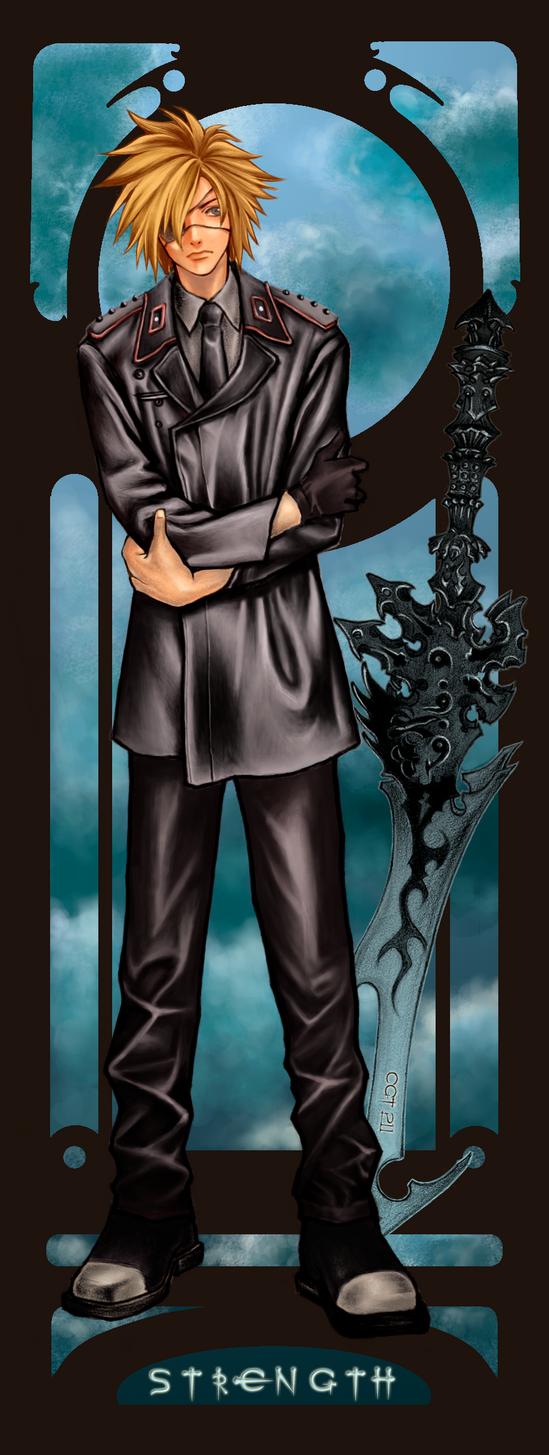 Tarrot Card Strength by elflling