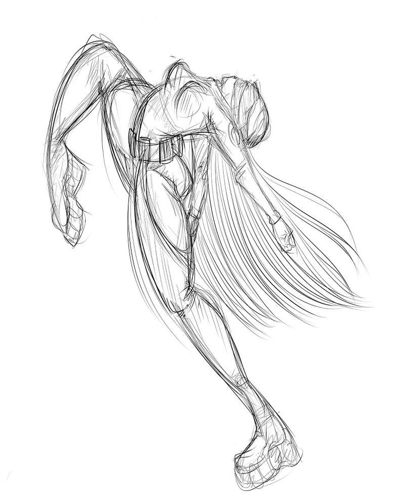 Iris sketch by shinyrainbowthing