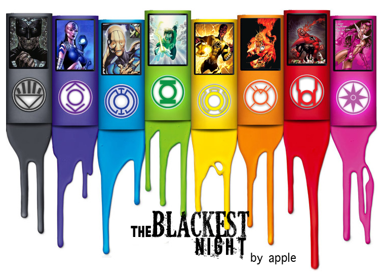 The Blackest Night By Apple By Weirdy182 On Deviantart
