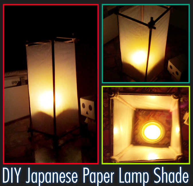Japanese Lamp Shade: Japanese Paper Lampshade by red-owl-view ...,Lighting