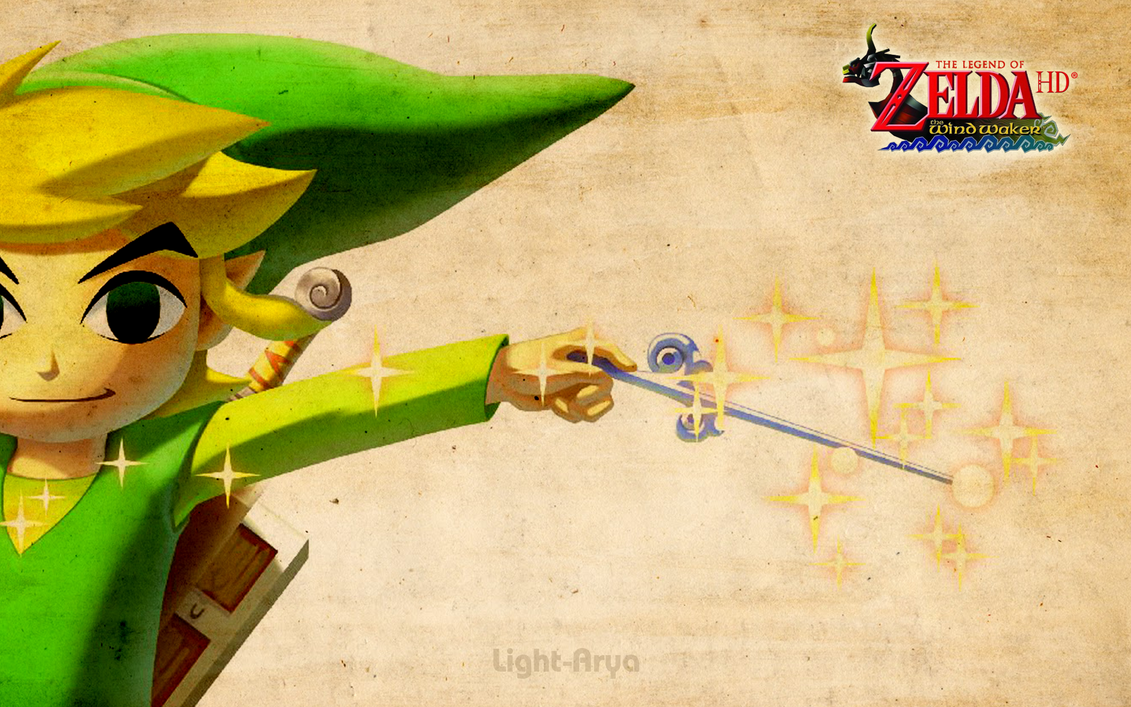 Toon Link - TLoZ Wind Waker HD by Light-Arya