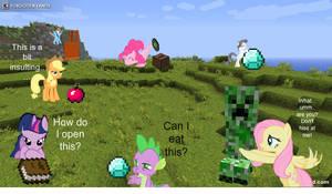 MLP's Minecraft Mash Up!