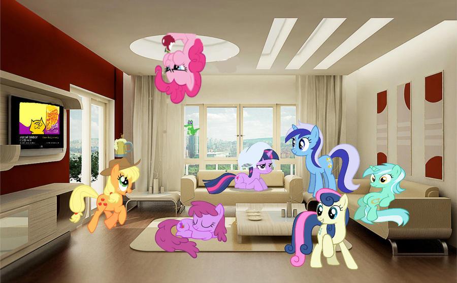 Lyras New Living Room By Fuzzyypanda On Deviantart