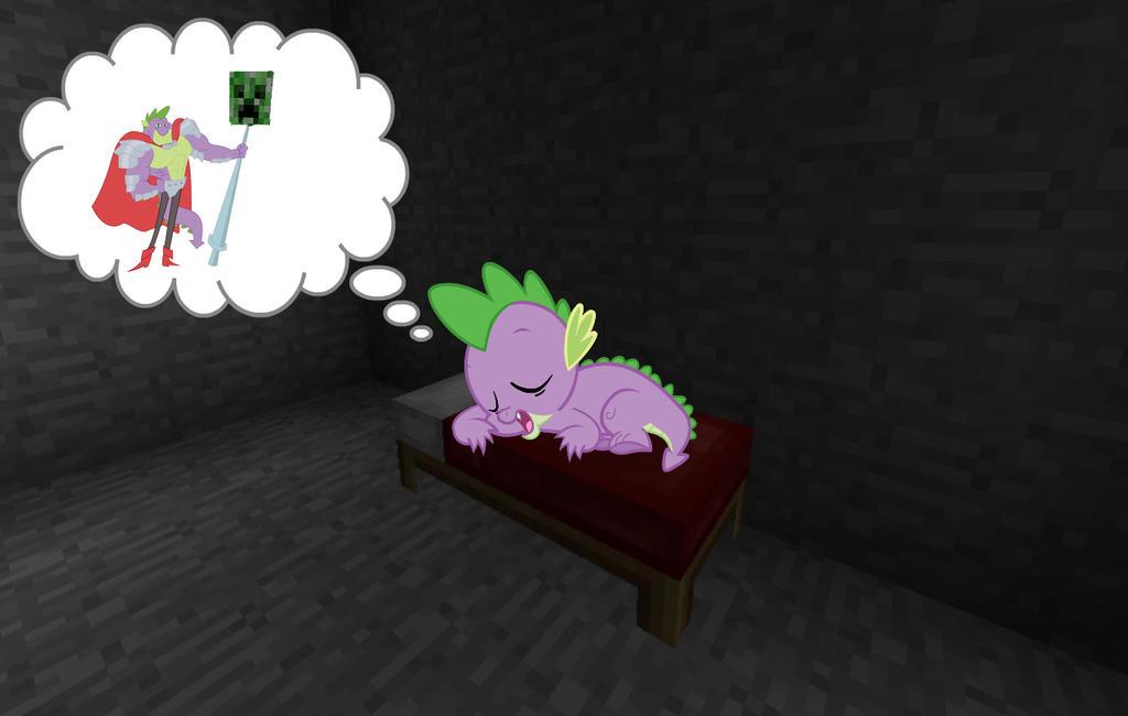 Minecraft Mash-up: Sleeping Spike