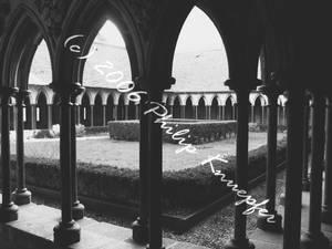 Mt. St. Michel: Cloister