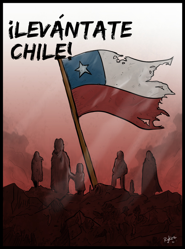 Levantate Chile by sir-ryken