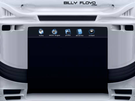 WIP Billy Floyd.com Portfolio