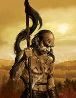 Ork of Cara Fahd by tikos