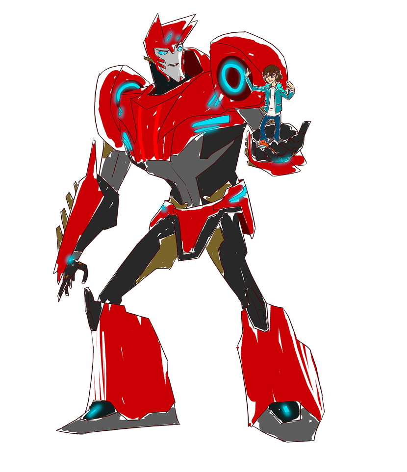.:Sideswipe And Russell:. By JACKSPICERCHASE On DeviantArt