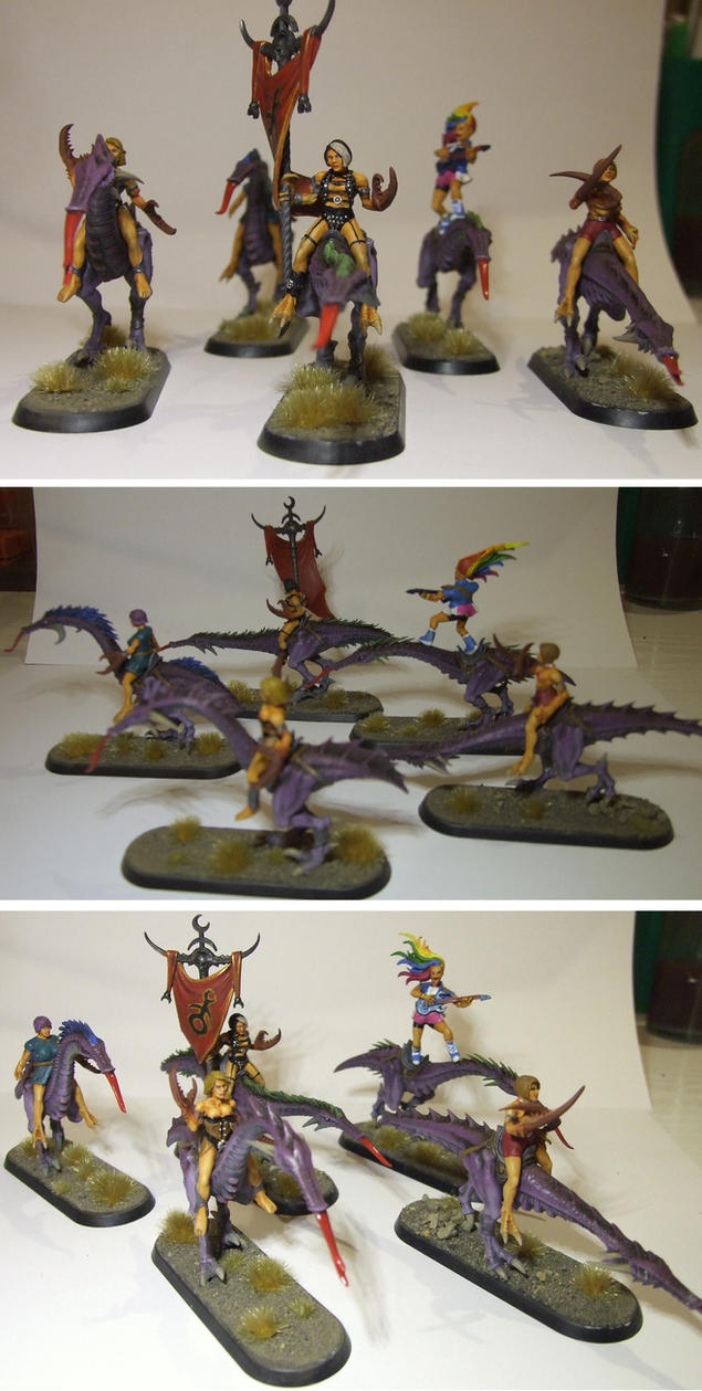 Converted Seekers of Slaanesh - second batch by half-halfling