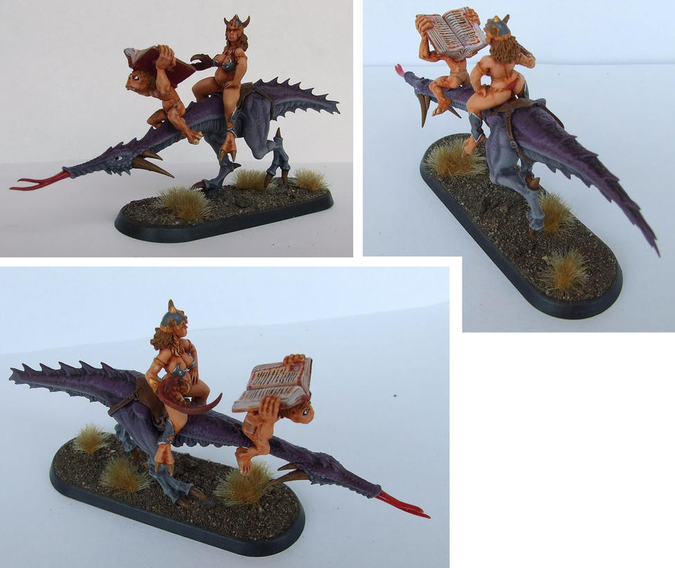 Herald of Slaanesh conversion by half-halfling