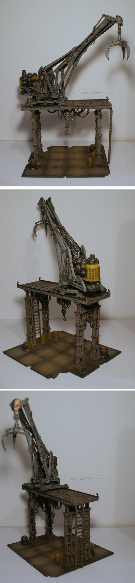 Sector Mechanicus crane by half-halfling