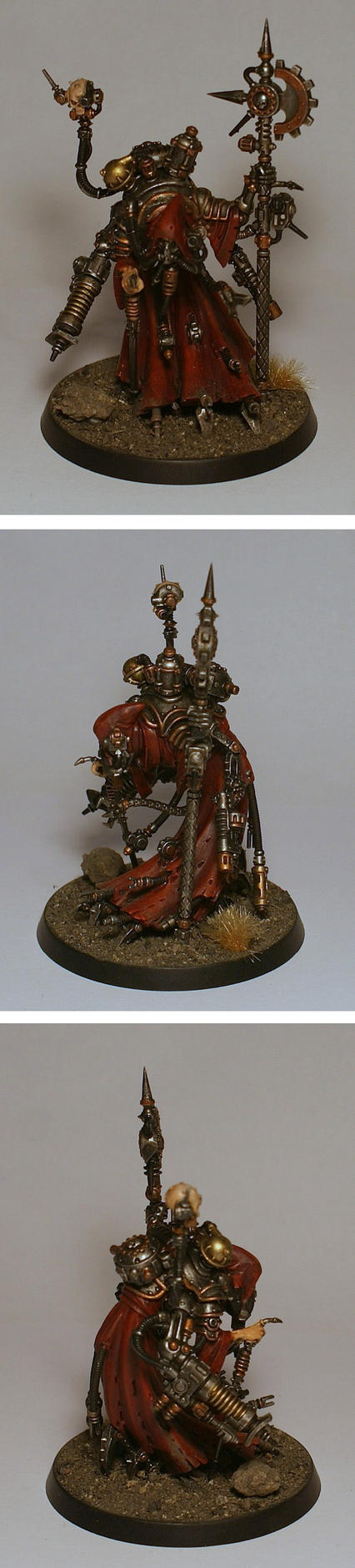 Techpriest Dominus by half-halfling