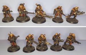 Genestealer Cult ranged weapons unit by half-halfling
