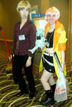 Eiri-San and Shuichi-Kun by SpellboundFox