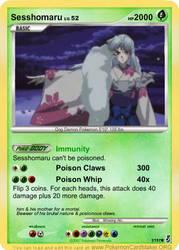 Teen Sesshomaru card by SpellboundFox