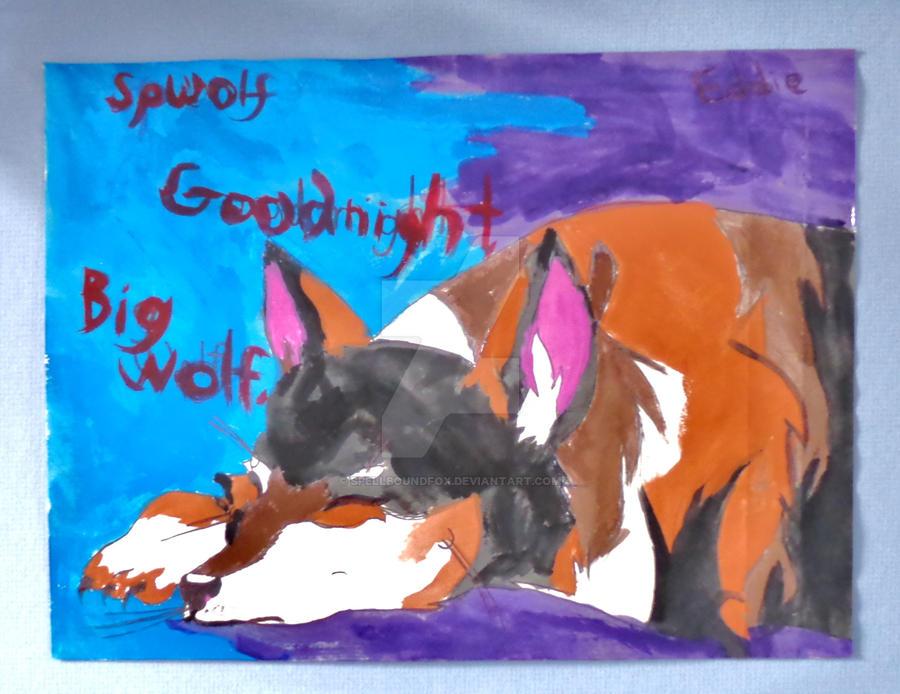 Good Night, Big Wolf by SpellboundFox