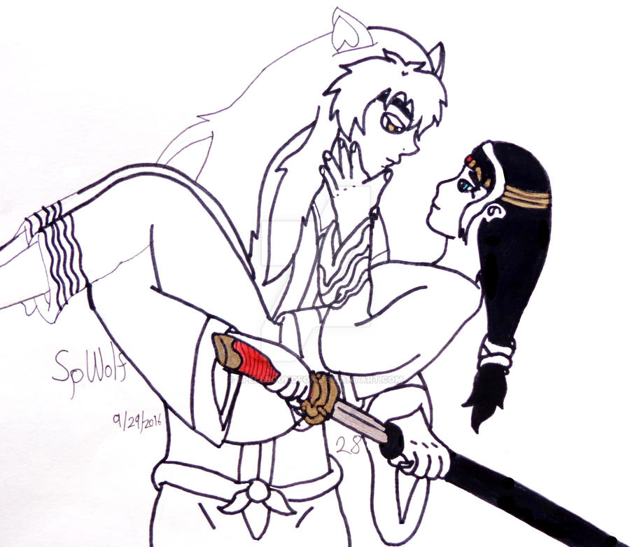 You Have My Kitana by SpellboundFox