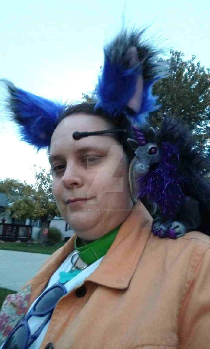 Halloween 2017: Fursona Cosplay by SpellboundFox