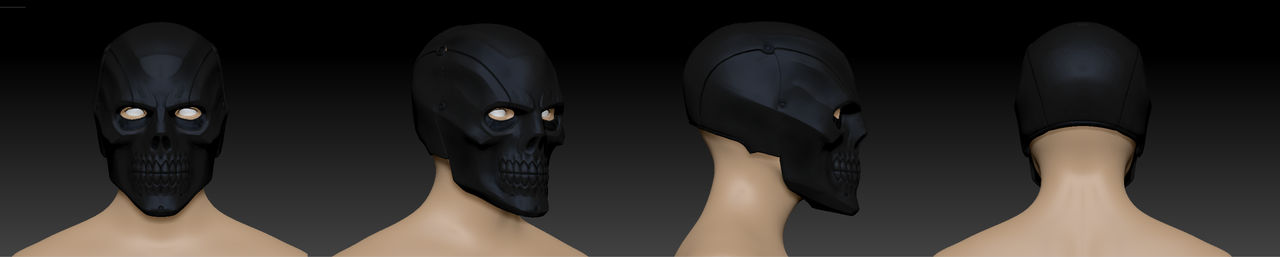 Blackmask helmet