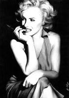 B+W Commission- Marilyn Monroe