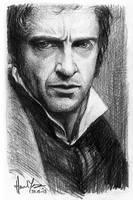 sketch - Valjean by nitefise