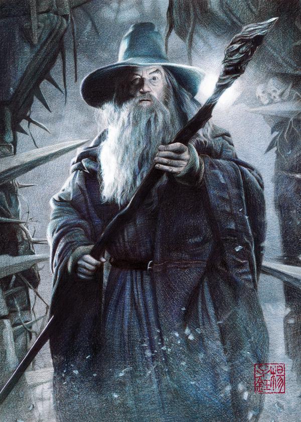 Gandalf by nitefise