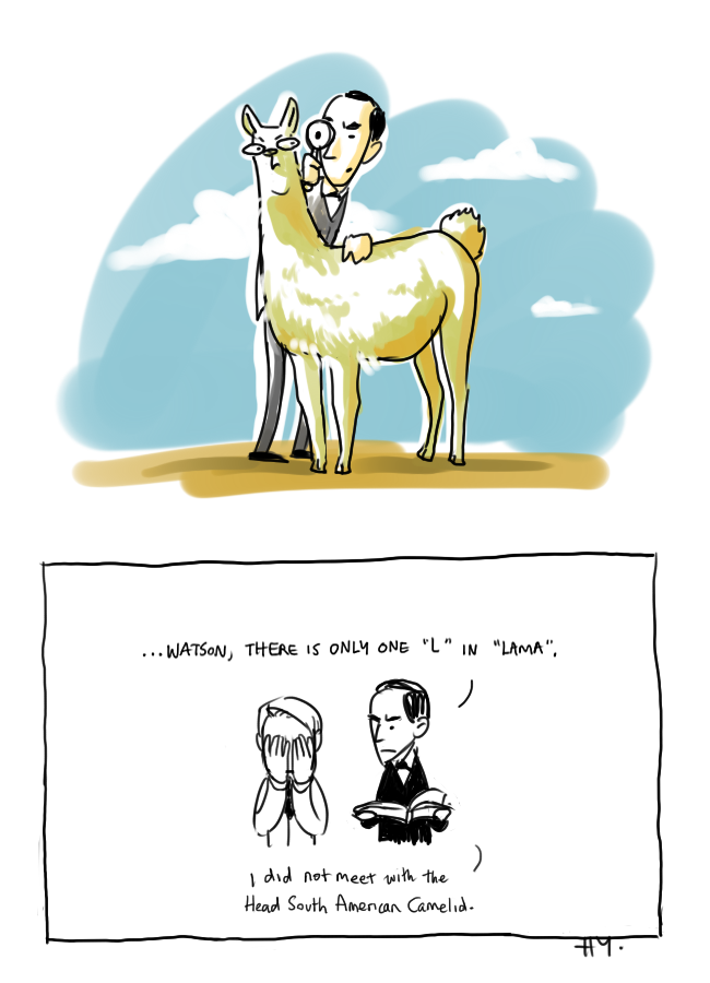 SH - Llama by nitefise