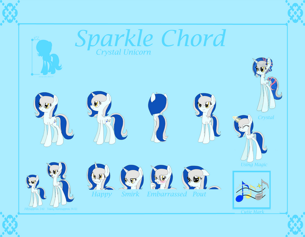 Sparkle Chord Reference Sheet by SparkleChord