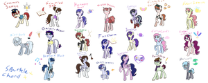 A Whole Bunch of Horses by SparkleChord