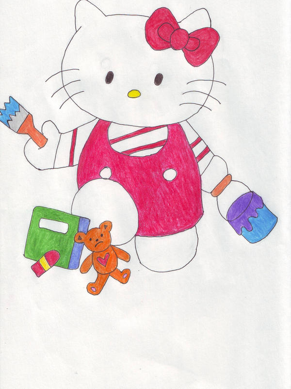 Hello Kitty Complete By Ashligh On Deviantart